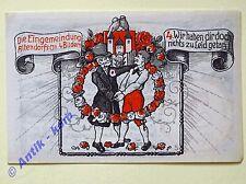 Notgeld Holzminden , 5 Mark Nr 4 , Wir haben... Mehl Grabowski 625.1 ,  kfr/unc