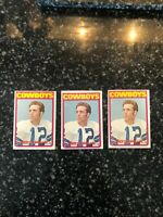 1972 Topps #200 Roger Staubach Rookie (3 avail) - Very nice crease/mark free