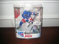 MCFARLANE NHL 16 JAROMIR JAGR BLUE JERSEY NY RANGERS SHOOTING POSE RARE