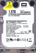 WD15NMVW-11AV3S0 dcm: HHMTJBK s/n: WX11A.. Western Digital 1.5TB USB 3.0  B15-2