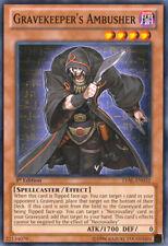 Yugioh! Gravekeeper's Ambusher - LVAL-EN032 - Common - 1st Edition Near Mint, En