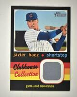 2020 Heritage High Number Clubhouse Collection Relic #CCR-JB Javier Baez