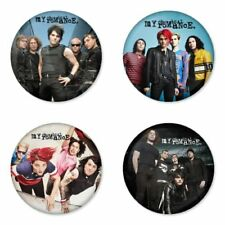 My Chemical Romance, I - 4 chapas, pin, badge, button