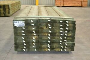 Treated Pine Sleepers 200x50mm x 5.4mt - Retaining Wall Garden Boxing Sand Pits