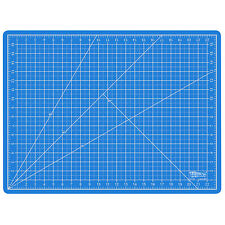 """18"""" x 24"""" PINK/BLUE Self Healing 5-Ply Double Sided Durable PVC Cutting Mat"""