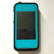 Apple iPhone 4 - 8GB - White (Unlocked) with case READ DESCRIPTION