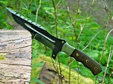 Jagdmesser-Bowiemesser-Outdoormesser-Damastmesser-Tanto-Bushcrafter-Groß 28cm(Z5