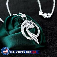 Diamond Angel Wing Necklace,Mother Gift, Marriage, Bridesmaid, Valentine's Day