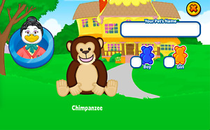 2009 Webkinz Classic Virtual Online Pet Code: CHIMPANZEE + Adventure Park!