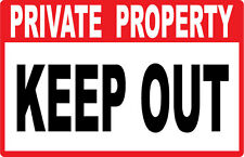 Private Property - KEEP OUT....SIGNS- #PS-415