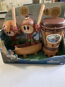 Disney Jakks Moana's Percussion 6 Piece Musical Instruments Kids Learning Sound