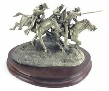 """Pewter Sculpture: Rodden """"Charge Of The 7th Cavalry"""" Limited Ed. 309/1500 Custer"""