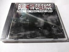BURN IN SILENCE Pure As Your First Day EP CD 3 tracks SEALED NEW 2003 BIS USA