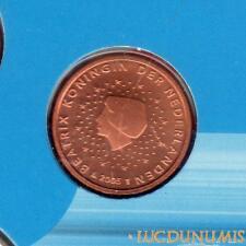 Pays Bas 2005 1 Centime d'euro FDC BU Pièce neuve du coffret BU 50000 Exemplaire