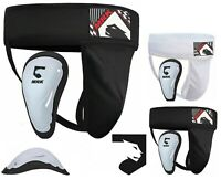 MRK Groin Guard With Gel Cup Boxing MMA Protector Martial Arts Abdo Jock Straps