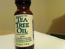 TEA TREE OIL .5 FL OZ 100% MELALEUCA ALTERNIFFLIA SHIPS WORLDWIDE TODAY