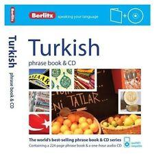 Berlitz Turkish Phrase Book [With CD (Audio)] (Mixed Media Product)