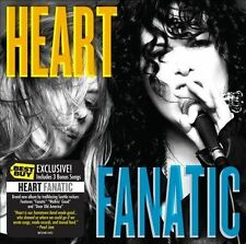 , Heart - Fanatic LIMITED EDITION CD Includes 3 BONUS Songs, Excellent Like New