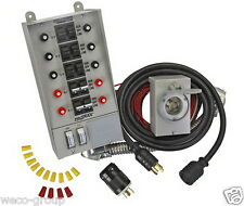 31410Crk Reliance Indoor Transfer Switch Kit (30A) For Portable Generators