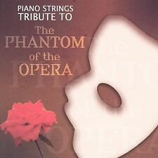Piano Strings Tribute to the Phantom of the Opera by Tom Bartsch (CD, Mar-2005,