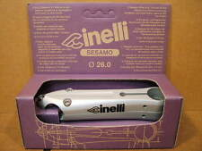 New-Old-Stock Cinelli Sesamo Stem..Silver Finish w/Black Decals (130 mm)