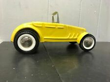 Vintage 1960'S Buddy L 32' Ford Roadster Pressed Steel Yellow No Roof Car Cars