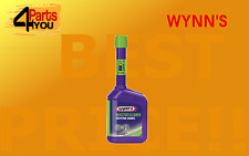 WYNNS INJECTOR CLEANER REDUCES FUEL CONSUMPTION  EMISSIONS   for petrol engines