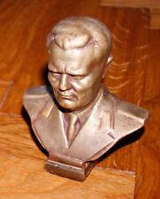 YUGOSLAVIA (SFRJ)  - Communist Sculpture BRASS Figure BUST TITO