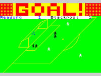 Sinclair ZX Spectrum 48K Game - FOOTBALL MANAGER - Addictive - Tested & Working