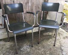 chaises fauteuils René Herbst Design moderniste Bauhaus bakelite chair 1930 40