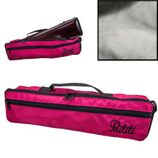 *GREAT GIFT* C Flute Hard Case Cover w Side Pocket/Handle/Strap Pink *SPECIAL*