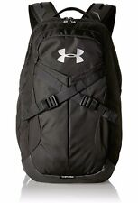 New Under Armour Recruit 2.0 Bookbag Backpack - Black / Black / Silver