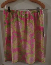 NWT Lilly Pulitzer silk spandex stretch skirt 8 M $145