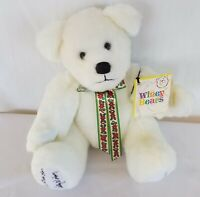 Sally Winey Bears HOLLY DAY Stuffed SIGNED Numbered To 1000 Autographed