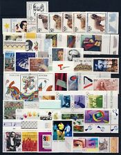Germany . 1996 Commem. Year Set (55 stamps, 2 sheets) . Mint Never Hinged