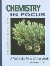 Chemistry in Focus: A Molecular View of Our World (with InfoTrac)