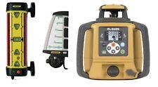 Leica LMR360R Machine Receiver Package w/ Topcon RL-SV2S Dual Grade Laser Level