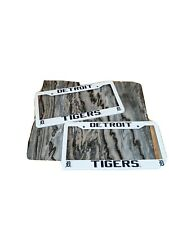 2 Detroit Tigers License Plate Frame NEW