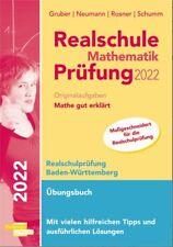 Realschule Mathematik Prüfung 2022 BW Übungsbuch Originalaufgaben gut erklärt