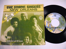 """THE STAPLE SINGERS New Orleans 7"""""""