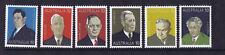 Australian Decimal Stamps 1975 Australian Prime Ministers Set 6 MNH