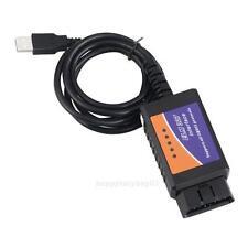 ELM327 USB OBDII OBD2 Diagnostic Auto Car Scanner Scan Tool Cable V2.1 CD Kit