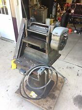 """PARKS 12"""" Wood Planer, w/ Heavy Metal Stand"""