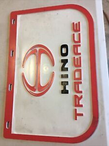 NOS Hino Tradeace Mud Flap 458mm x 306 mm 1 x Mud Flap Only
