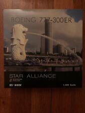 1:400 Phoenix Singapore Airlines Boeing B777-300ER 9V-SWM