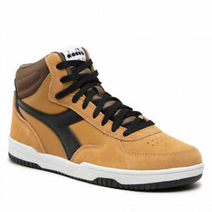 Diadora RAPTOR MID S Men's Sneakers Casual Shoes Lifestyle Italian Shoes