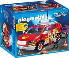 PLAYMOBIL Brandmeisterfahrzeug mit Licht und Sound City Action Spielzeug NEU
