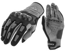 GUANTI MOTO ENDURO CROSS ACERBIS CARBON G 3.0 NERO GRIGIO BLACK GLOVES TG M