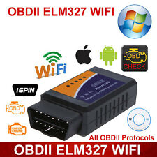 WIFI ODB2 OBDII Car Diagnostic Scanner Code Reader ELM327 For Android & IOS