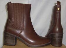 UGG CAMDEN Chocolate Brown Leather Chelsea Boots Size US 7, EU 38 NIB #1018938